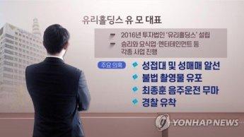 """""""유인석·박한별과도 함께 골프"""" 승리 카톡방 '경찰총장' 입건"""