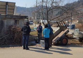 광해관리공단, 폐석면광산 토양개량복원 사업지 대기 모니터링