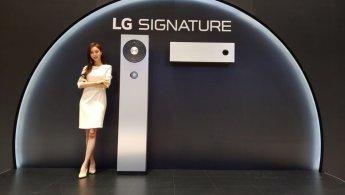LG전자, '천만원대' 초프리미엄 시그니처 에어컨 공개(일문일답)