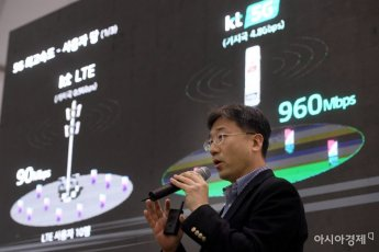 [포토] KT, 5G 기술 기자설명회