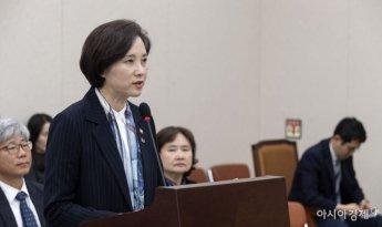 [포토] 국회 교육위 출석한 유은혜 부총리