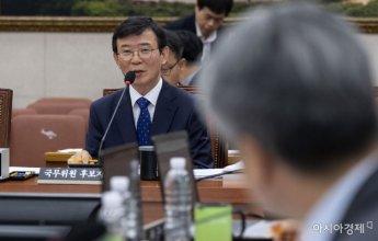 [포토] 답변하는 문성혁 해수부 장관 후보자