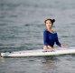 [ST포토] 오아희, '커다란 서핑보드 이끌고'