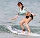 [ST포토] 레이싱모델 이다희, '첫 서핑에도 노련해'