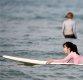 [ST포토] 임솔아, '서핑보드에 엎드려'
