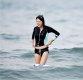 [ST포토] 아지, '물에 빠져도 즐거운 서핑'