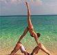 9위 홀리 월프, 비키니 탑 쌓기 '균형감이 생명'