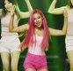 [ST포토] 미소, '핑크빛 무대'