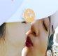 [ST포토] 키스하는 오지현, '트로피, 내 맘속에 저장'