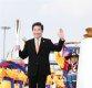 [ST포토] 이낙연 총리, 평창동계올림픽 시작을 알리는 성화봉송