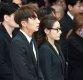 [ST포토]이준기-도지원 '떠나 보내기 싫은 故김주혁'