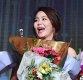 [ST포토] 김지현 프로, '꽃이 너무 많아'