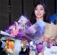 [ST포토] 김민선 프로, '꽃다발 한아름 안고'