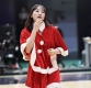 [ST포토] 이주연, '산타복 입은 미녀 농구선수'