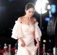 [ST포토] 홍아름 '강추위에도 포기할 수 없는 드레스'