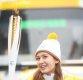 [ST포토] 성화봉송 주자 전소미, '귀여움 폭발'