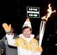 [ST포토] 태진아, '두 번째 올림픽 성화봉송'