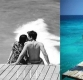 선예, 상의 탈의한 남편과 해변 화보...로맨틱한 분위기 물씬