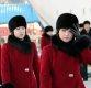 붉은 코트 맞춰입은 北예술단…공연연습 돌입