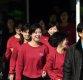[ST포토] 환한 미소 보이는 북한 예술단