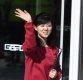 [ST포토] 북한 예술단 '매력적인 웃음 보이며