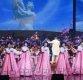 [포토]한복 입고 공연하는 북한 예술단