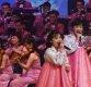 [포토]한복 입고 노래하는 북한 삼지연 관현악단