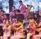 [포토]화려한 무대 선보이는 삼지연 관현악단