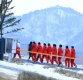 [ST포토] 북한 응원단 '2018 평창동계올림픽 개막 날'