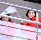 [ST포토] 북한응원단 '평창에서 만나요'