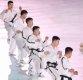 [포토]평창 동계올림픽, 북한 태권도 시범단의 공연