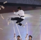 [포토]북한 태권도 시범단의 공연