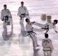 [포토]평창 동계올림픽 개막 알리는 남북 태권도 시범단