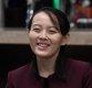 [포토]환하게 웃는 김여정 북한 노동당 제1부부장