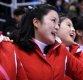 [포토] 단일팀 응원하는 북한 응원단