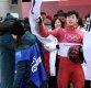 박영선, 윤성빈 특혜 응원 논란에 &quot안내 받아 이동&quot 사과