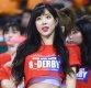 [ST포토] 김한나 치어리더 '농구장의 꽃'