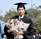 [ST포토] 대학교 졸업하는 박보검
