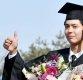 [ST포토] 대학교 졸업하는 박보검, '기분은 엄지 척'