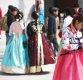[포토]포근한 봄, 한복 입고 관광