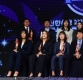 [ST포토] 포즈 취하는 WKBL 정규시즌 시상식 수상자들