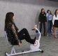 [ST포토] CLC '자전거 스피드 게임도 최선을 다해'