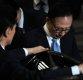 [포토]그림자 드리워진 이명박 전 대통령