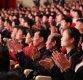 [포토]태권도시범단 공연 찾은 북한 주민들