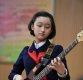 [포토]진지한 북한 악기신동, 대중가요 연주학습