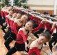 [포토]훈련하는 북한 체조신동, 절도있는 동작으로