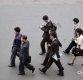 [포토]출근하는 북한 시민들