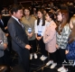 [ST포토] 이낙연 국무총리와 이야기 나누는 여자 컬링대표팀
