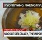美 CNN 생방송 등장한 '옥류관 냉면'…&quot남북 '음식외교'위한 국수&quot