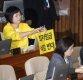 [포토] 정의당, 최저임금법 개정 반대 피켓팅